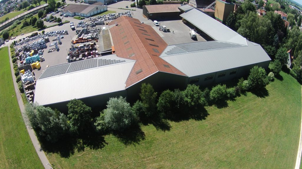 BLW Wertingen | Baustofflagerhallen